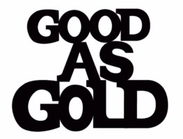 Good as Gold 79 x 64 bulk pack 5